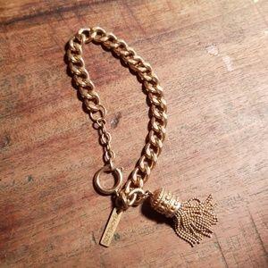 Authentic RACHEL ZOE Tassel bracelet